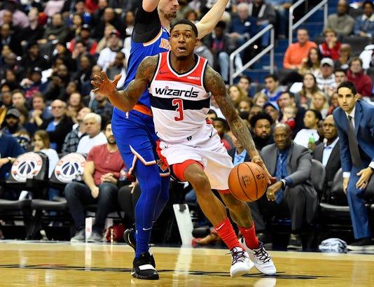 Usp Nba New York Knicks At Washington Wizards S Bkn Was Nyk Usa Dc