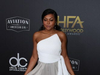 Actress Taraji P. Henson arrives for the 22nd Annual Hollywood Film Awards at the Beverly Hilton hotel in Beverly Hills on November 4, 2018. (Photo by Mark RALSTON / AFP)MARK RALSTON/AFP/Getty Images ORG XMIT: 22nd Annu ORIG FILE ID: AFP_1AK82M
