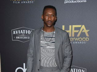 Mahershala Ali arrives at the Hollywood Film Awards on Sunday, Nov. 4, 2018, at the Beverly Hilton Hotel in Beverly Hills, Calif. (Photo by Jordan Strauss/Invision/AP) ORG XMIT: CAPM168