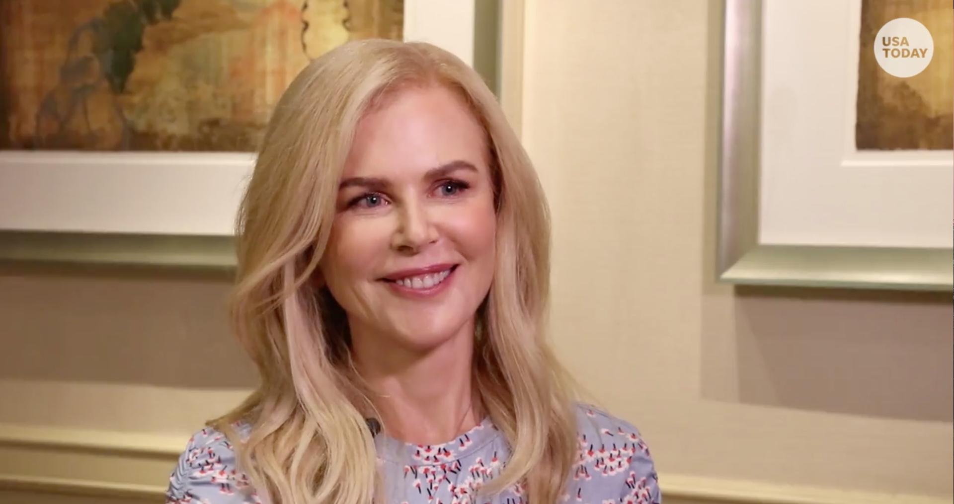Why Nicole Kidman's Christmas won't be like yours