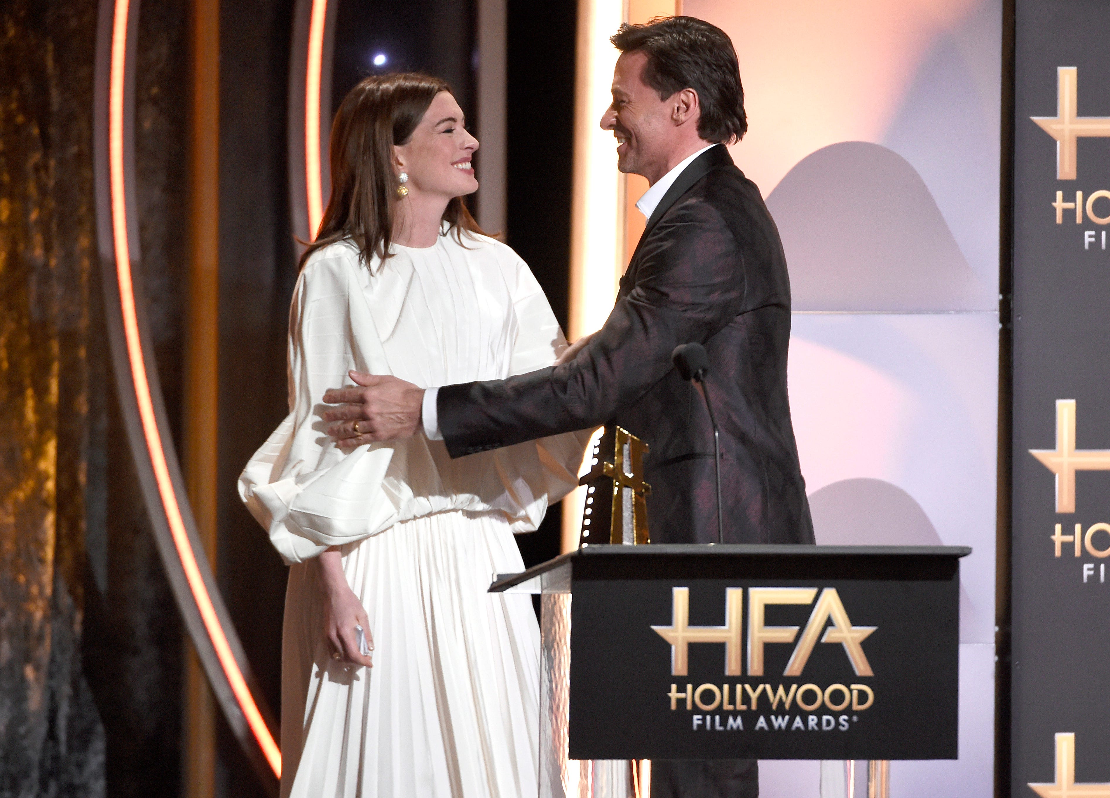Anne Hathaway finally reveals how Hugh Jackman lost it shooting 'Les Miserables'