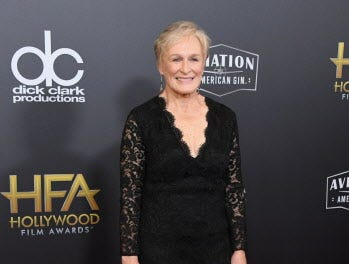 BEVERLY HILLS, CA - NOVEMBER 04:  Glenn Close attends the 22nd Annual Hollywood Film Awards at The Beverly Hilton Hotel on November 4, 2018 in Beverly Hills, California.  (Photo by Jon Kopaloff/Getty Images) ORG XMIT: 775237947 ORIG FILE ID: 1057407324