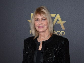 Actress Joanna Cassidy arrives for the 22nd Annual Hollywood Film Awards at the Beverly Hilton hotel in Beverly Hills on November 4, 2018. (Photo by Mark RALSTON / AFP)MARK RALSTON/AFP/Getty Images ORG XMIT: 22nd Annu ORIG FILE ID: AFP_1AK7WF