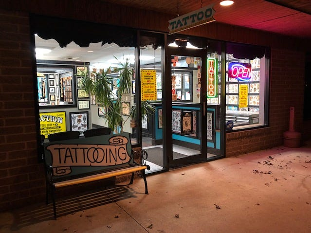 Tattoo Faction, a popular Cleveland-area shop, has an old-school vibe, but its reputation has spread around the world.