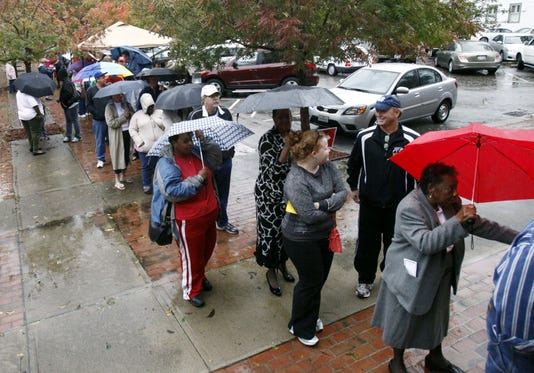 Early voting in a Nc state