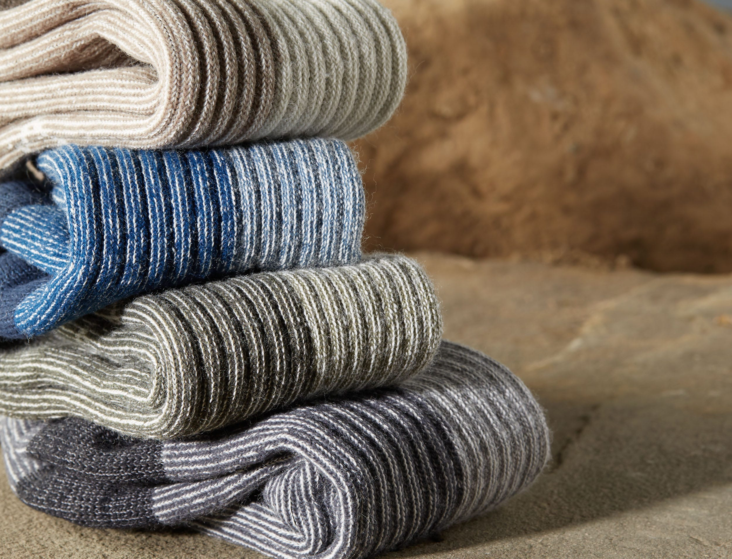 """Among sustainability efforts, outdoor gear and clothing seller REI only sells wool socks made of """"responsibly-sourced"""" wool. The company says that means wool that comes from farms with a progressive approach to managing their land, and from sheep that were treated according to leading animal welfare standards."""