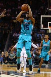 Charlotte Hornets guard Kemba Walker.