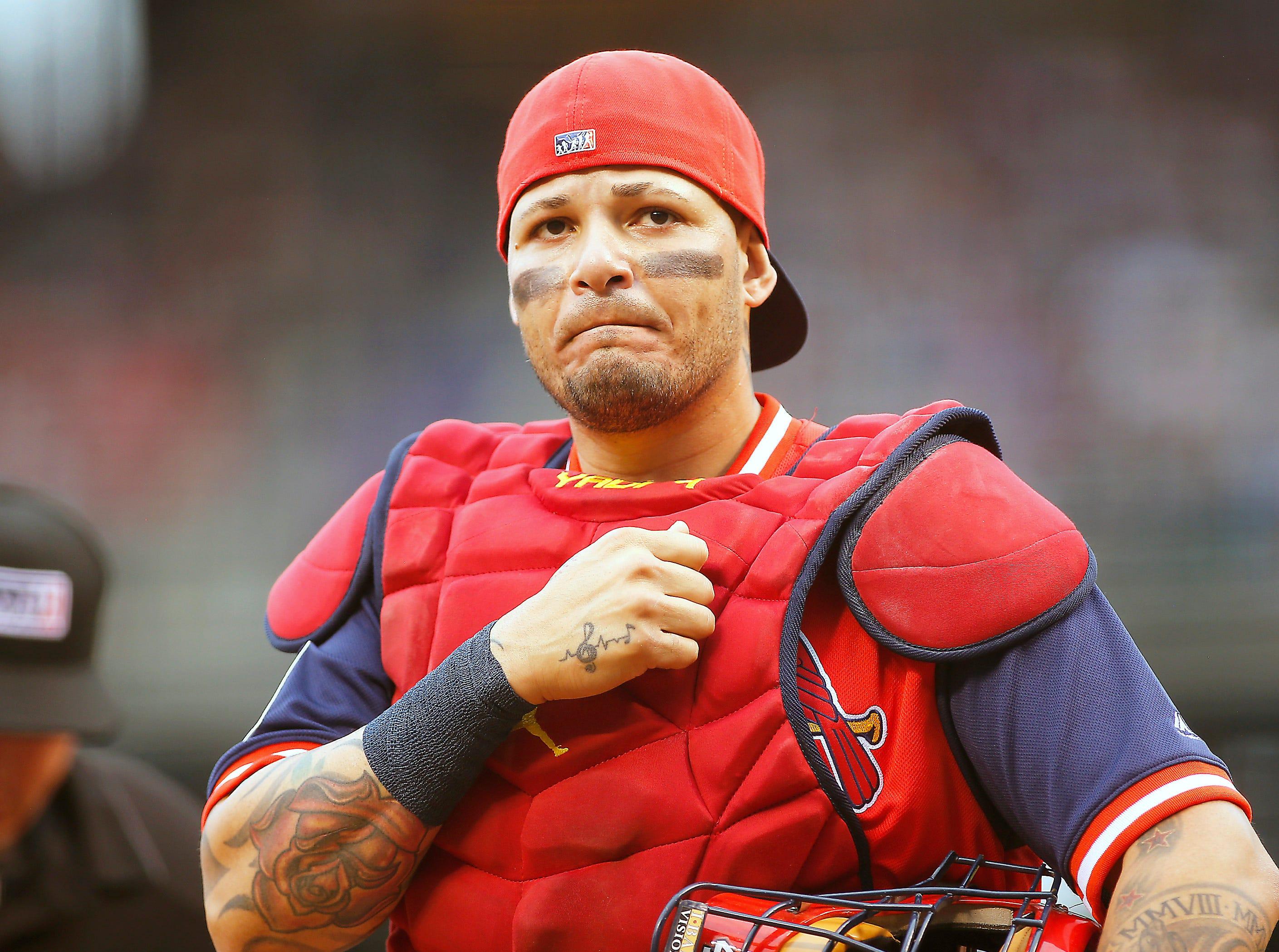 NL Catcher – Yadier Molina, Cardinals (ninth)