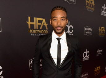 BEVERLY HILLS, CA - NOVEMBER 04:  Algee Smith attends the 22nd Annual Hollywood Film Awards at The Beverly Hilton Hotel on November 4, 2018 in Beverly Hills, California.  (Photo by Matt Winkelmeyer/Getty Images for HFA) ORG XMIT: 775237953 ORIG FILE ID: 1057417500