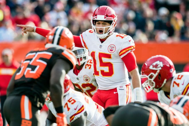 Chiefs QB Patrick Mahomes remains a front runner for NFL MVP.