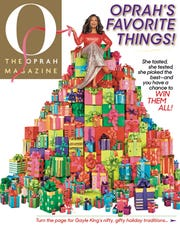 Oprah Winfrey, seen here on the December 2018 cover of O, The Oprah Magazine, has released her latest holiday gift guide.