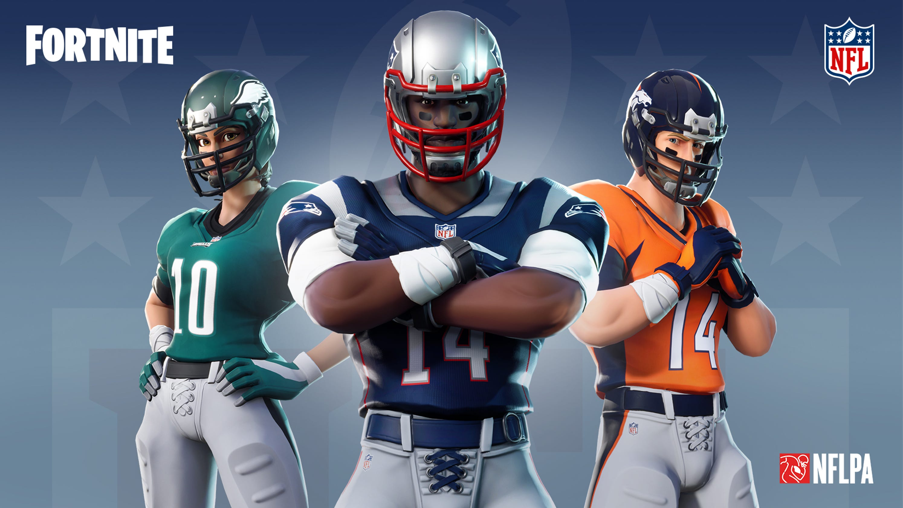 058c19cf6 Fortnite  adds NFL uniforms and other football gear