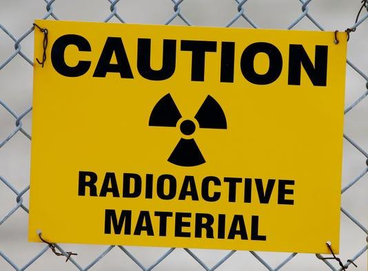 Ap Radioactive Waste Utah Desert A Usa Ut