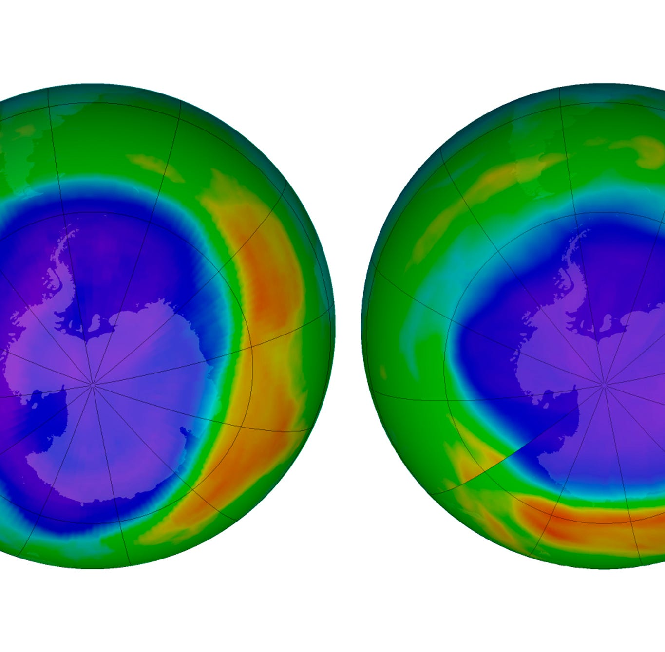 Good environmental news, for once: The ozone layer is healing thanks to worldwide cooperation
