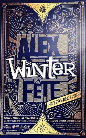 Alex Winter Fête, Alexandria's Christmas festival, will be Nov. 29-Dec. 1.