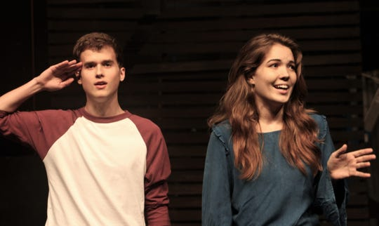 "Carl KImbrough is the male lead (and only male) and Madison Massey is the female lead (and only female) in the two-person cast of ""John & Jen,"" an Abilene Christian University production that opens Monday at Fulks Theatre on campus."