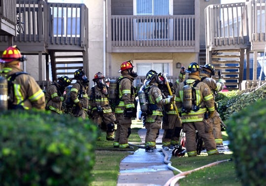 Firefighters extinguish two-alarm fire at Abilene apartment