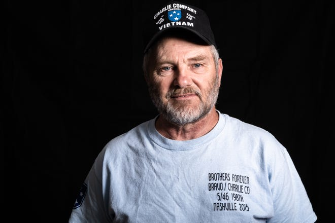 David Robinson, a veteran of the Vietnam War, served in the United States Army Americal Division, Charlie Co. 5th Battalion, 46th Infantry, 198 Brigade, from 1970-1971.