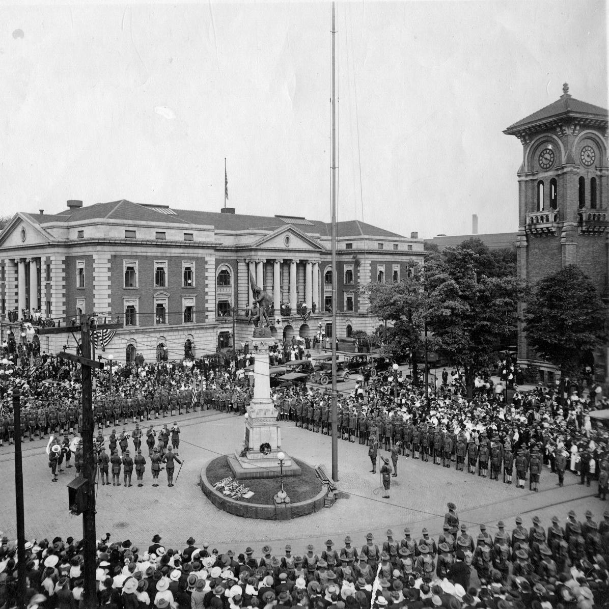 How Battle Creek celebrated armistice 100 years ago