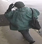 A security image of the suspect who allegedly robbed Nirchi's Pizza in Endwell.