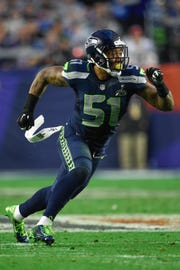 Bruce Irvin played in two Super Bowls for the Seahawks.