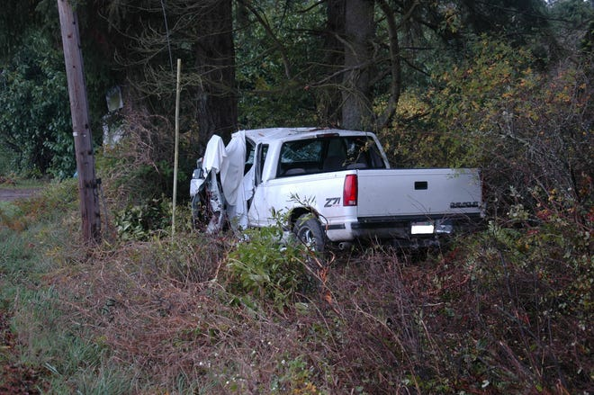 A North Kitsap man was killed in a single-vehicle accident on Saturday off Hansville Road.