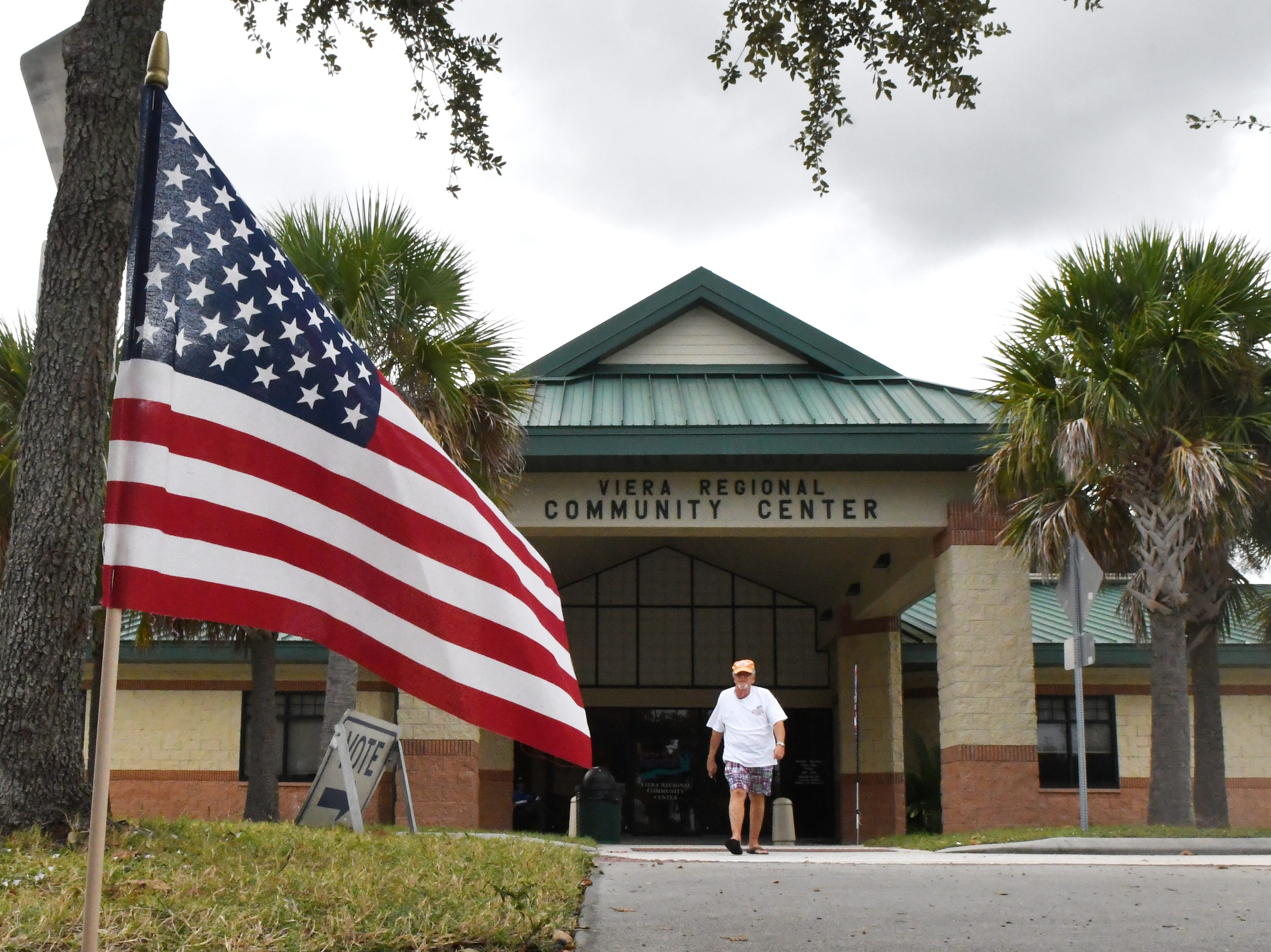 Election Day Tuesday at Viera Regional Park Community Center.