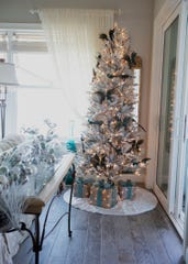 Shirley VanQualen tries to put a tree in every room of her house.