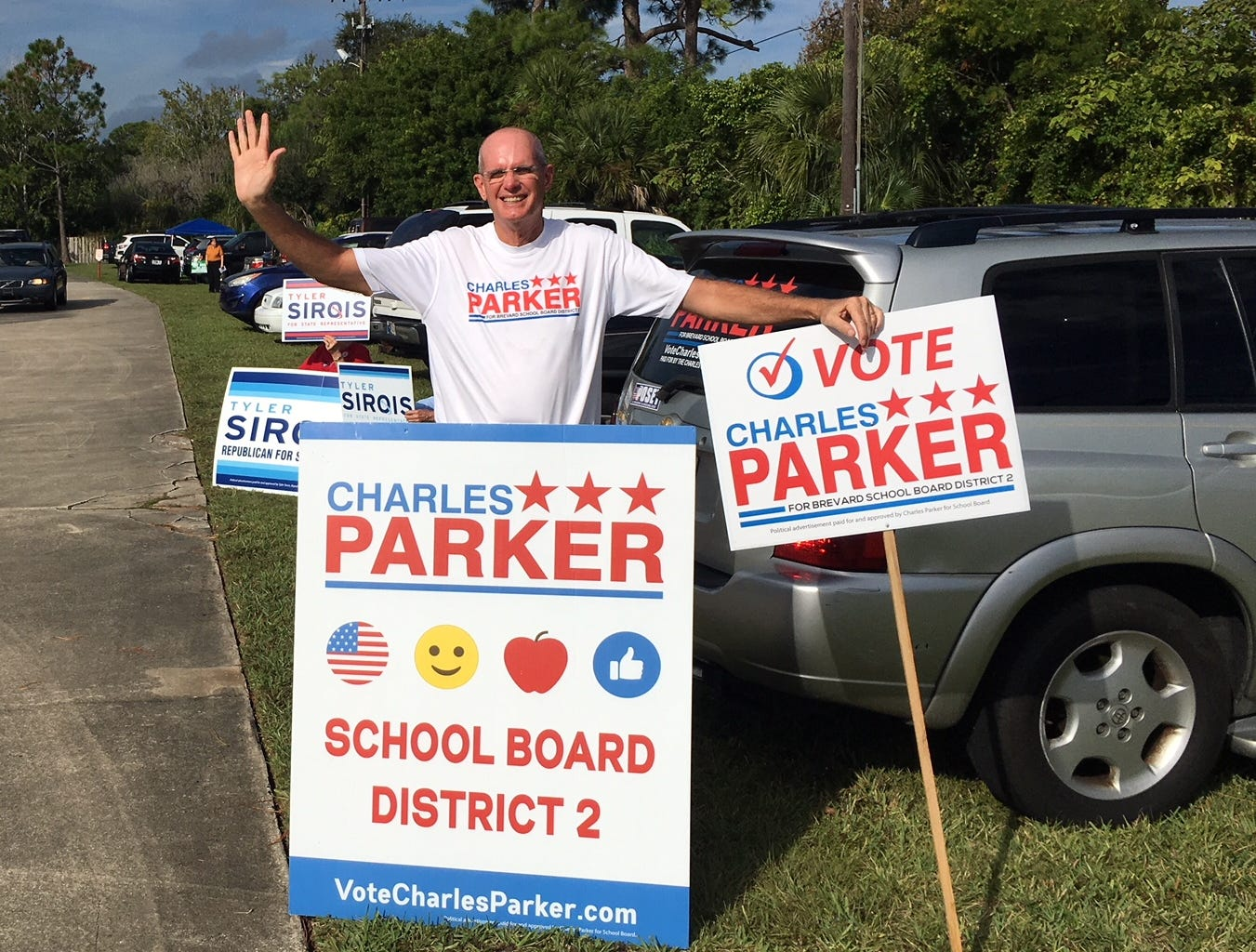Charles Parker at Hope United Methodist Church in Rockledge.
