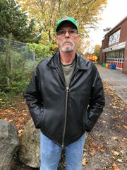 Mark Ziemba voted at the Sustainability Academy at Lawrence Barnes in Burlington's Old North End neighborhood on Election Day, Nov. 6, 2018.