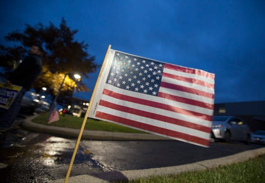 Even before the sun rose in Blue Ash, lines were forming at the doors the Blue Ash Recreation Center on Election Day. A large turnout was expected.