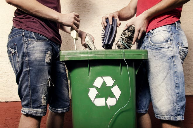 Many people don't know what items can be recycled, a Rumpke study found.