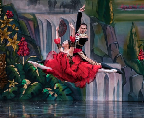 Spanish Variation In The Great Russian Nutcracker