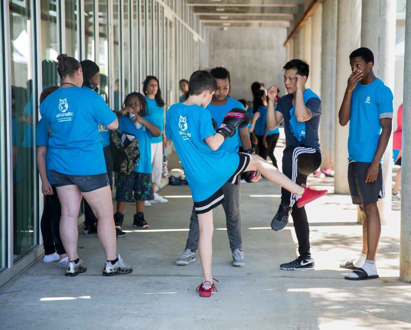 Watchmen Training Center trains youth and shows them self-defense to build confidence so they can protect themselves and others.