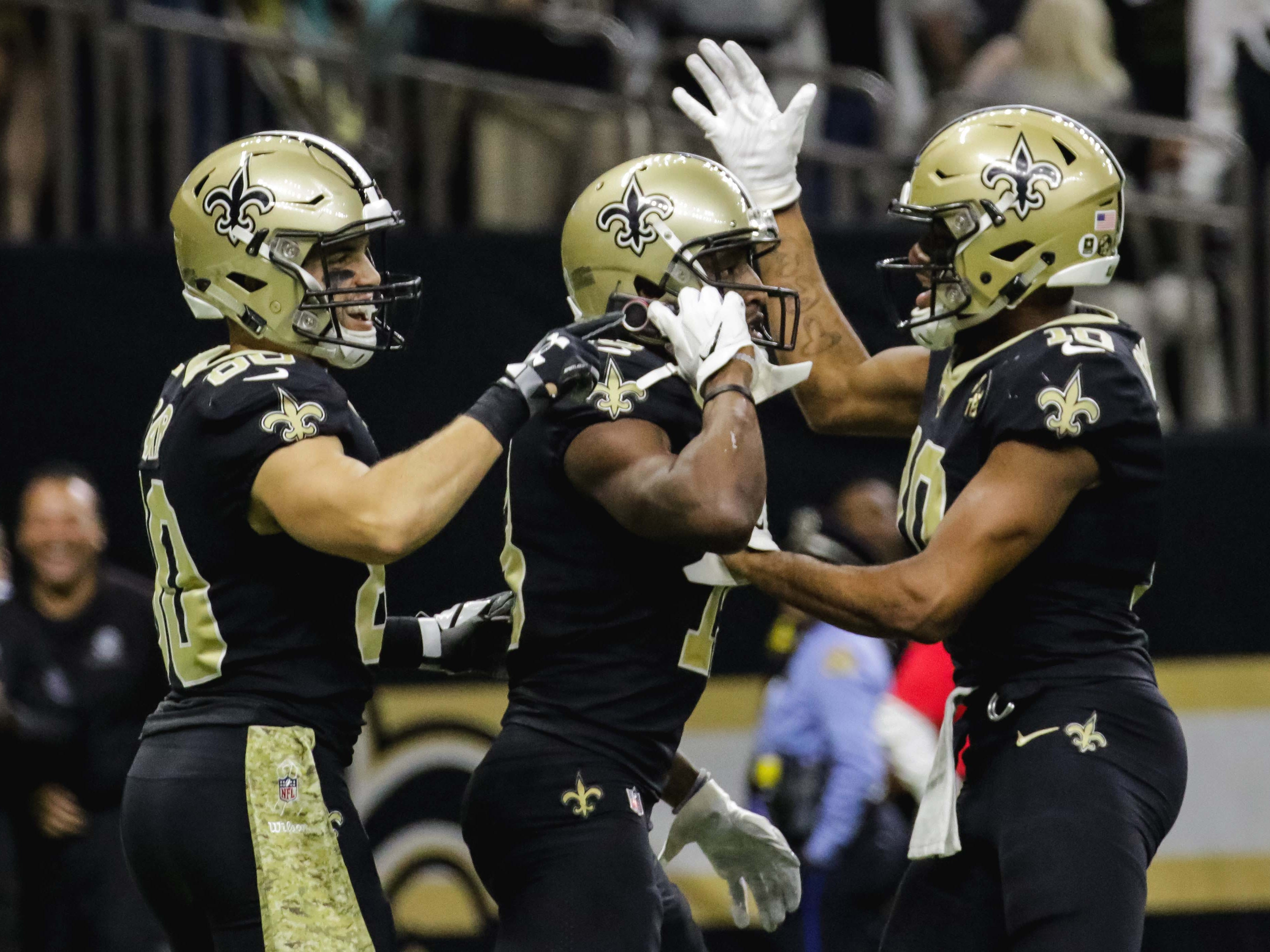 4. Saints (7-1) | Last game: Defeated the Rams, 45-35 | Previous ranking: 4