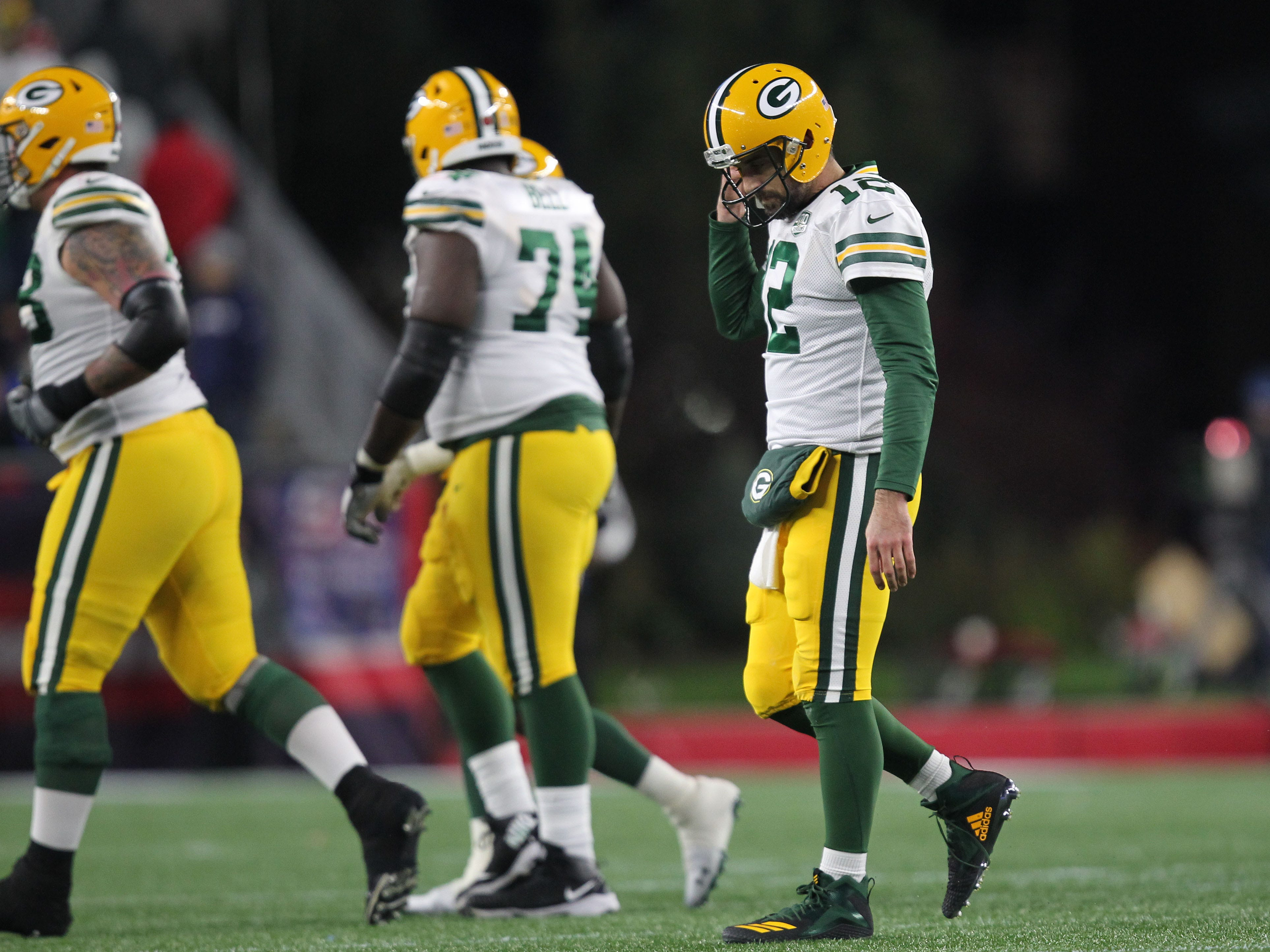 15. Packers (3-4-1) | Last game: Lost to the Patriots, 31-17 | Previous ranking: 14