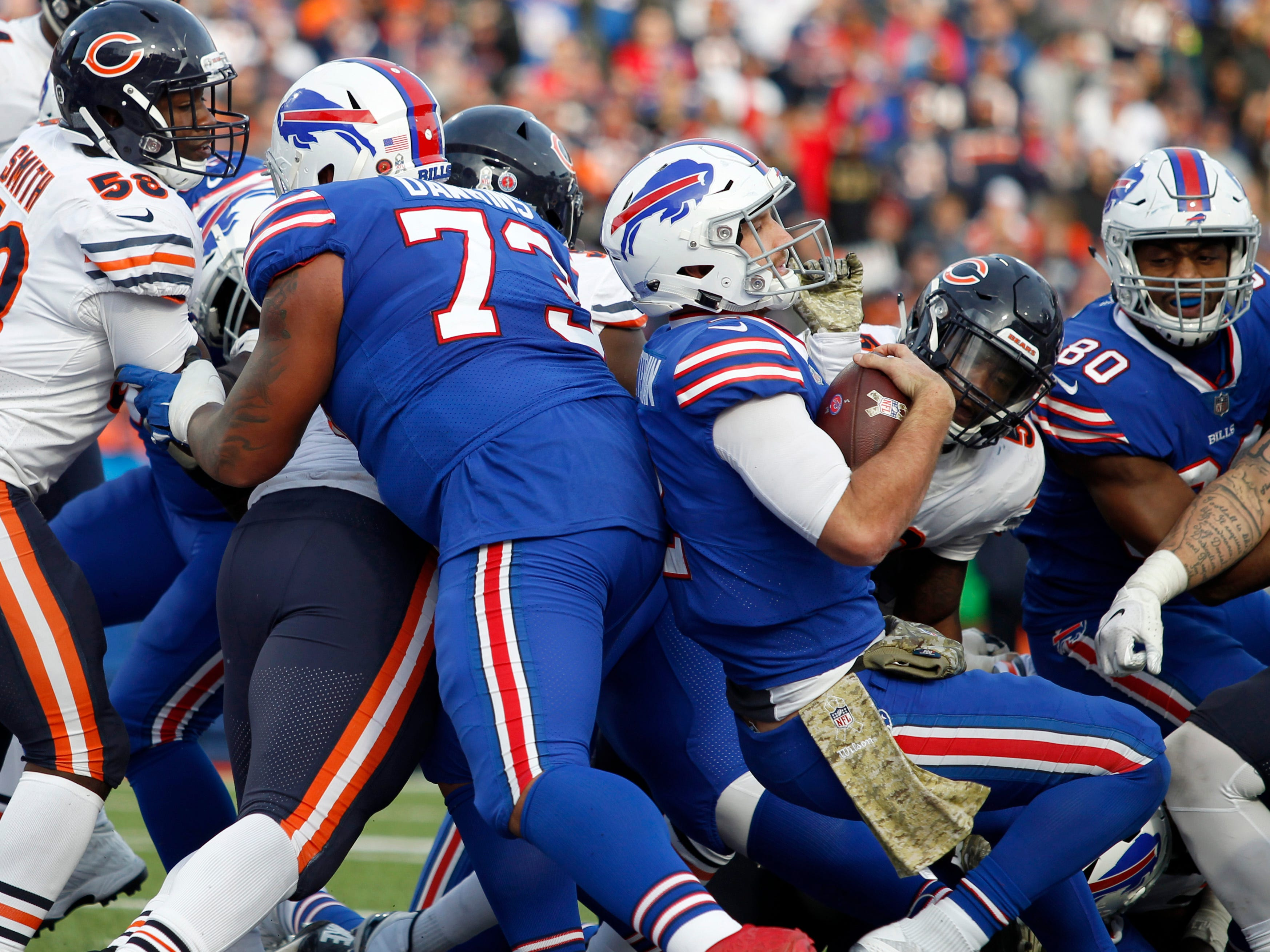 31. Bills (2-7) | Last game: Lost to the Bears, 41-9 | Previous ranking: 31