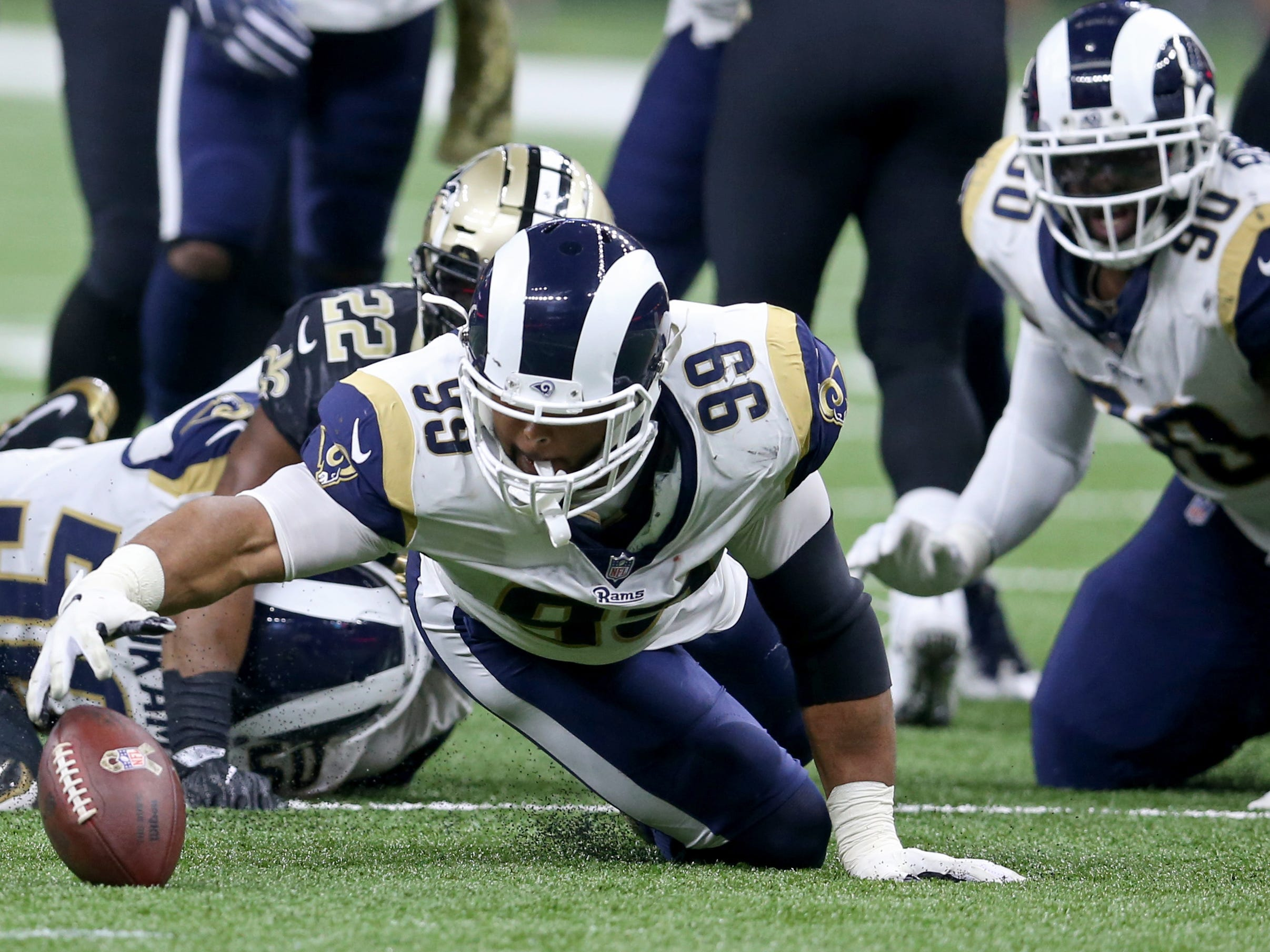 1. Rams (8-1) | Last game: Lost to the Saints, 45-35 | Previous ranking: 1