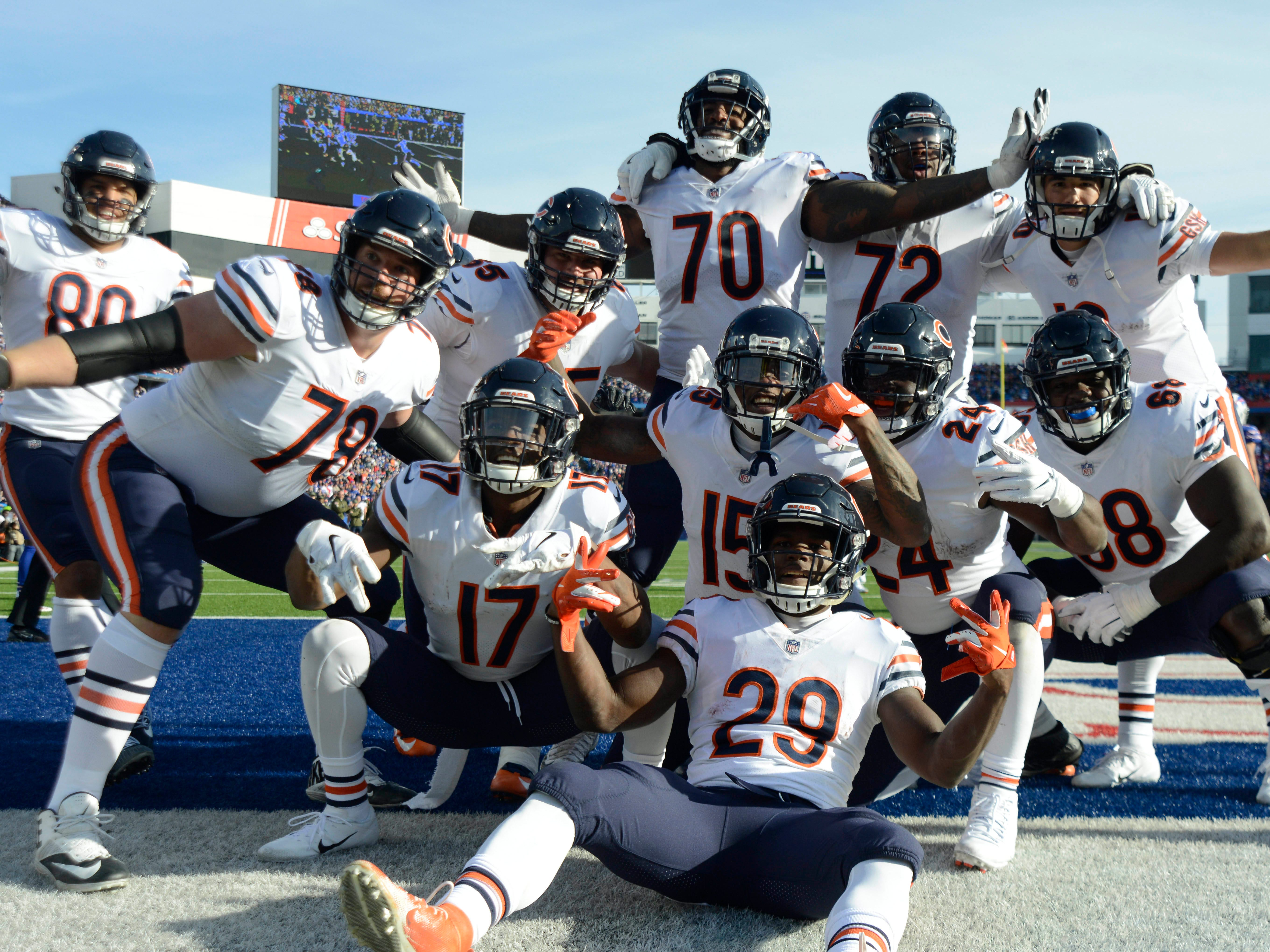 10. Bears (5-3) | Last game: Defeated the Bills, 41-9 | Previous ranking: 10