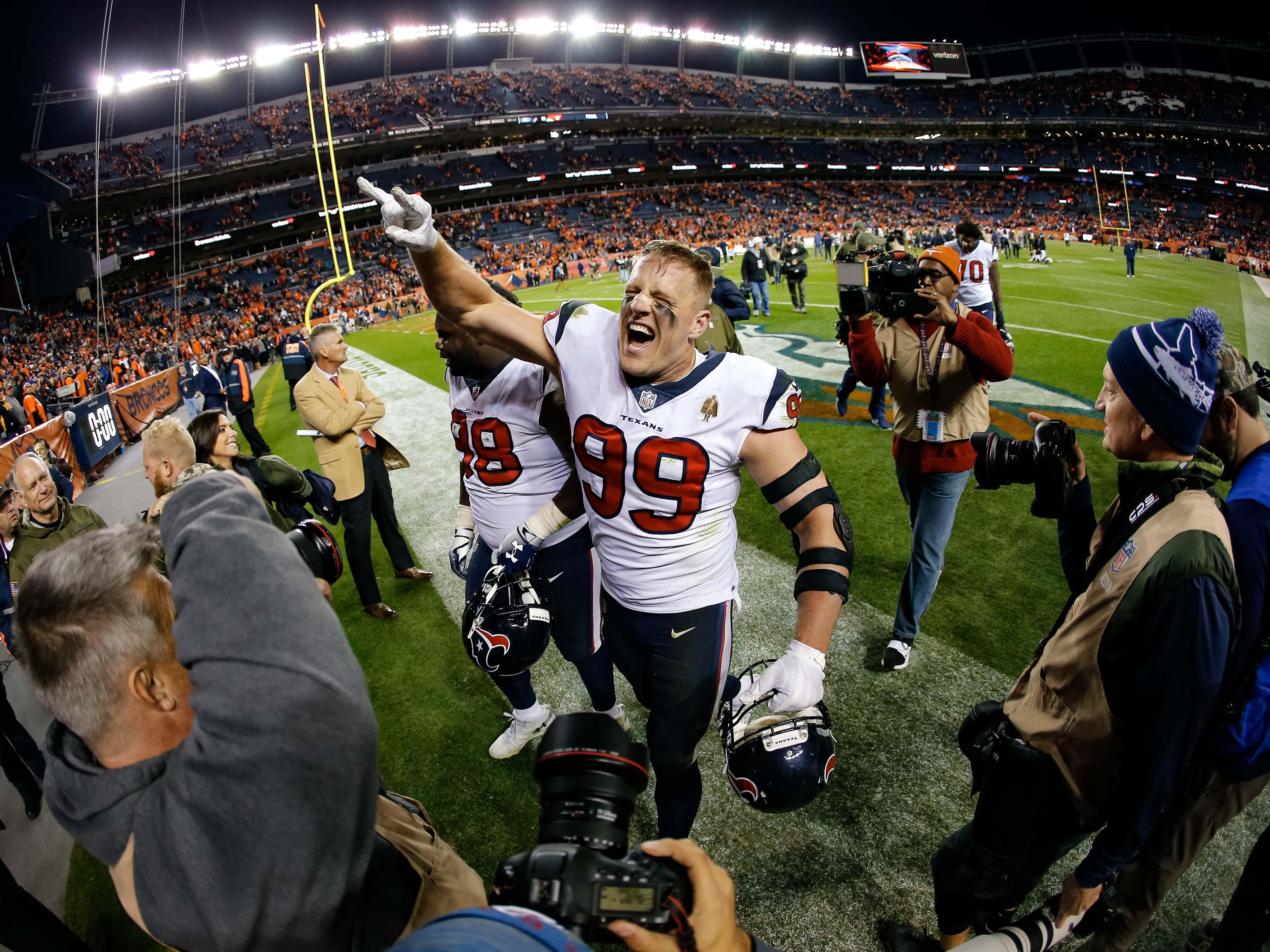 7. Texans (6-3) | Last game: Defeated the Broncos, 19-17 | Previous ranking: 7