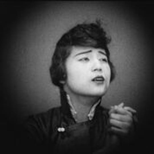 "Image from silent film 'Curse of Quon Gwon"" by Marion E. Wong, part of Cinema Detroit's 'Pioneers: First Female Filmmakers' series."