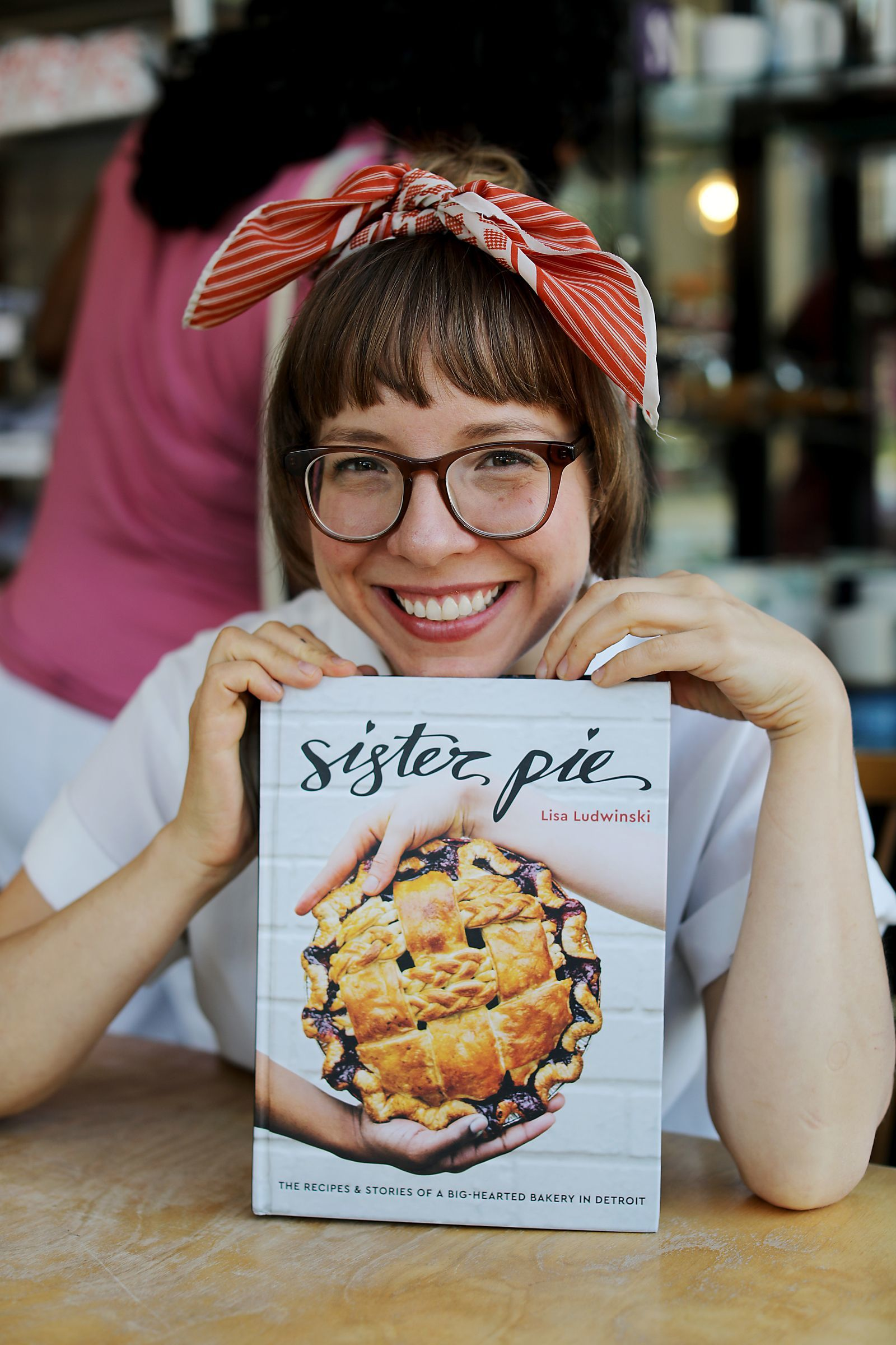 Lisa Ludwinski, 34, of Detroit is the owner of Sister Pie bakery in the West Village neighborhood of Detroit.