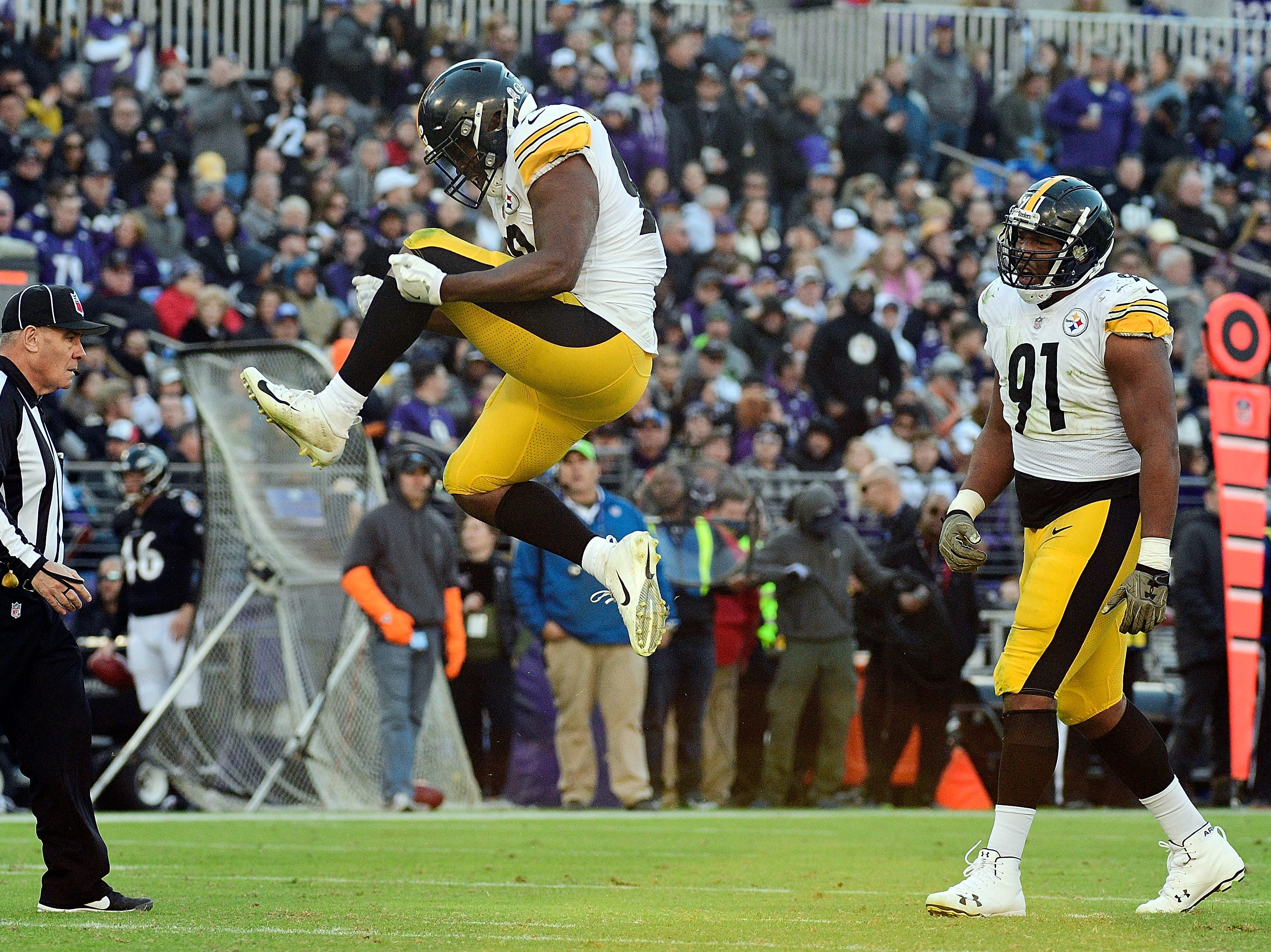 8. Steelers (5-2-1) | Last game: Defeated the Ravens, 23-16 | Previous ranking: 8
