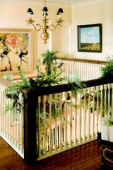 You can use garland all over your home. (Mary Carol Garrity/TNS)