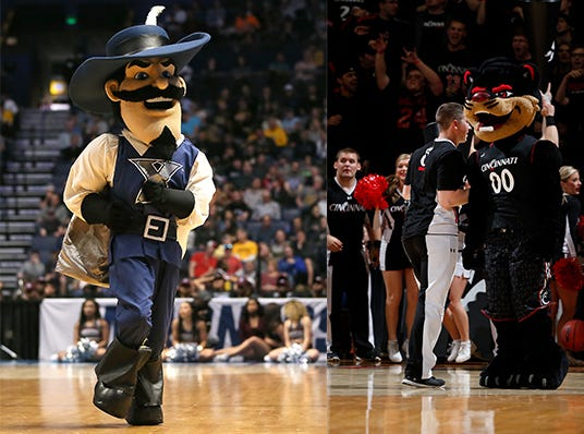 Enter to win two (2) tickets to select UC and Xavier men's college basketball games Nov. 14 - Jan. 31.