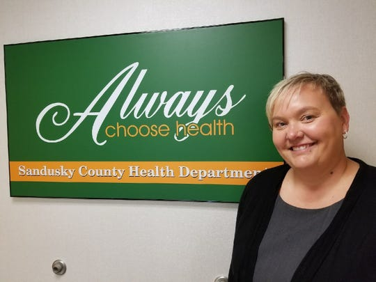 Sandusky County Health Department Commissioner Bethany Brown.