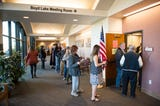 Many turned out to get their ballots in on the final day of voting in Colorado