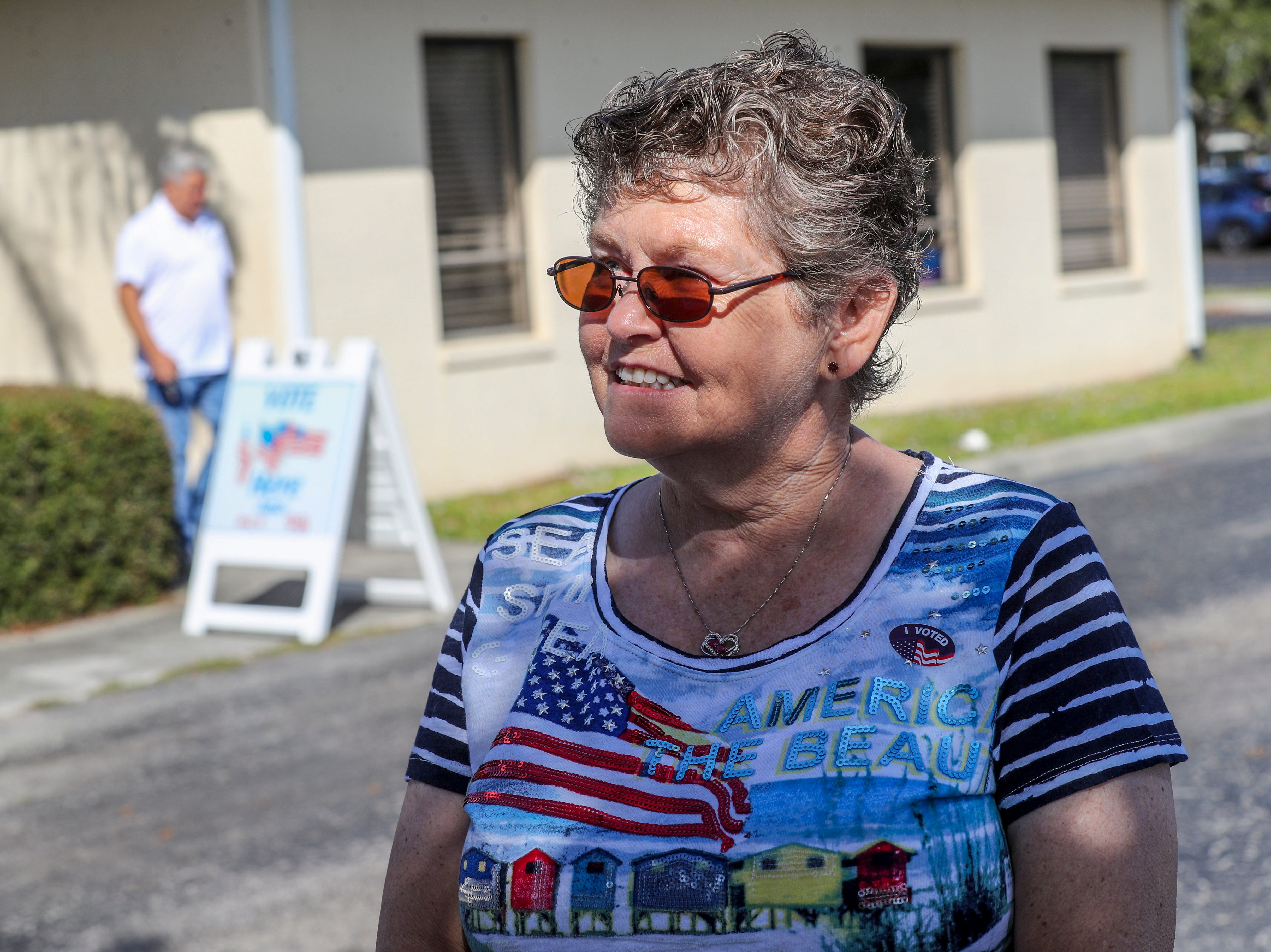 Water quality was a very big issue for Patricia Jarvis. She talked about why she voted today after voting in person at Precinct 98 in Cape Coral.