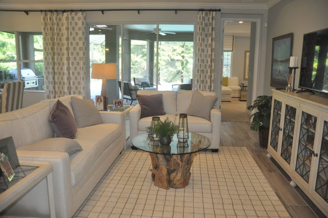 The White Star is the only model at Coconut Cove and is the community's best-selling floor plan.