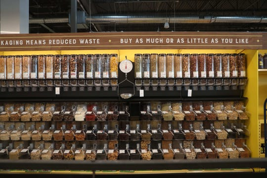 Whole Foods Fort Myers carries a range of bulk items, from grains and rice to honeys and nut butters.
